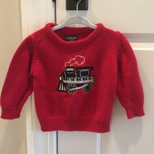 OshKosh B'Gosh Train Sweater, 18 months